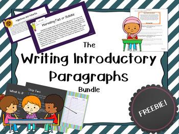 Introductory Paragraphs Bundle