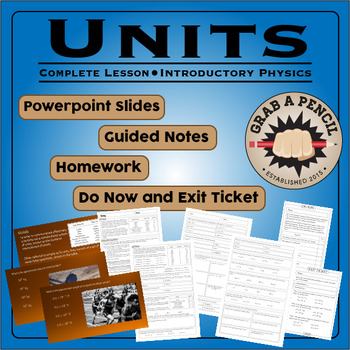 Introductory Physics: Units Complete Lesson