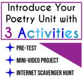 Introductory Poetry Activities: High School