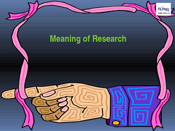 Introductory Presentation on Research