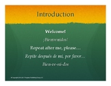 Introductory Spanish - Lesson 1 Presentation Slides (Lesso