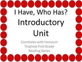 """Introductory Unit """"I HAVE, WHO HAS?"""" Sight Word Practice f"""