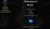 Introductory Web Quest to the World of Shakespeare