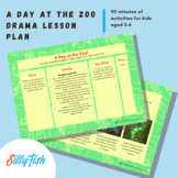 Zoo Themed Drama Lesson Plan for Ages 3-6 (90 mins)