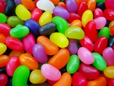 Introductory fractions activity-Jelly beans Fractions
