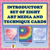 Introductory Set of Art Media and Technique Cards