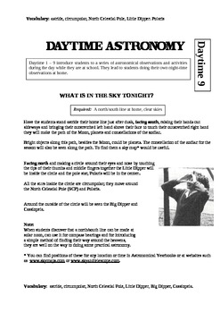 Introductory unit to Daytime Astronomy (Complete Unit)