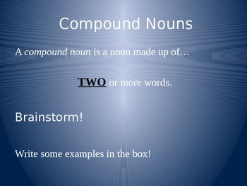 Introductory/Review Grammar PowerPoint Slideshow