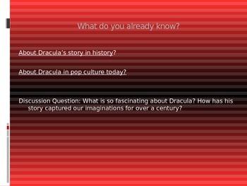 Introdution to Bram Stoker's Dracula