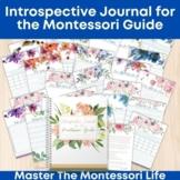 Introspective Journal for the Montessori Guide
