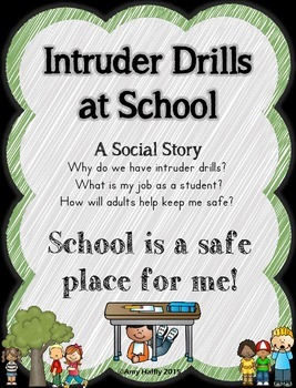 Intruder Drill Social Story: Single Classroom Use License