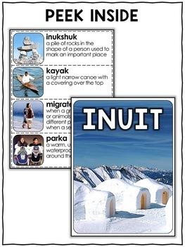 Inuit Activities Nonfiction Unit