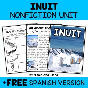 Nonfiction Inuit Unit Activities