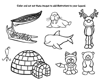 Inuit Activity - Write Your Own Inuit Legend - Inuit Writing