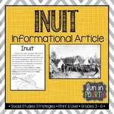 Inuit: Indigenous (First Nations, Aboriginal) Cultures Inf