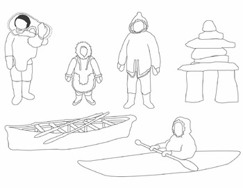 Inuit Clip Art