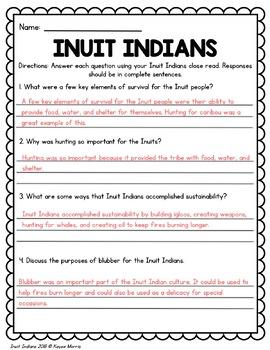 Inuit Indians
