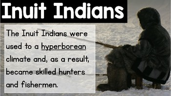 Inuit Indians Powerpoint