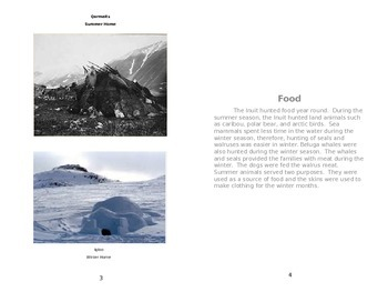 Inuit Informational Text
