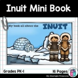 Inuit Tribe Mini Book for Early Readers - Native American Activities