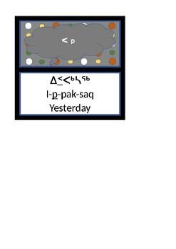 Inuktitut Syllabic Finals
