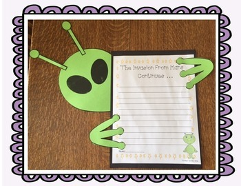 Invasion From Mars Journeys Unit 2 Lesson 6  fourth grade