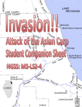 Invasion!! Student Companion Worksheet - NTSS MS-LS2-4