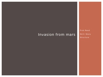 Invasion from Mars (1st Read) PowerPoint - 4th Grade Journeys