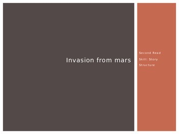 Invasion from Mars (2nd Read) PowerPoint - 4th Grade Journeys