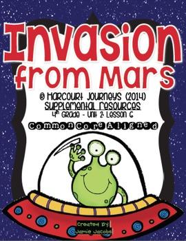 Invasion from Mars (Journeys 4th Grade - Supplemental Materials)