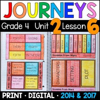 Journeys 4th Grade Lesson 6: Invasion from Mars (Supplemen