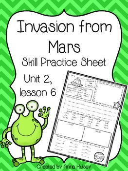 Invasion from Mars (Skill Practice Sheet)