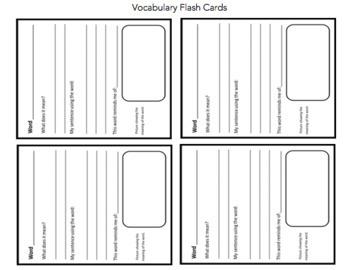 "Invasion of the ""Humaliens"" Vocabulary Study"