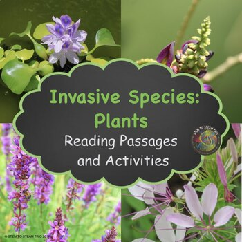 Invasive Plant Species:  NGSS: MS-LS2-4 and MS-LS2-5