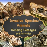Invasive Animal Species:  NGSS: MS-LS2-4 and MS-LS2-5