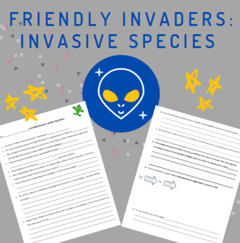 Invasive Species Article Questions + NO key