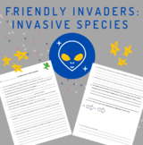 Invasive Species Article Questions + NO key