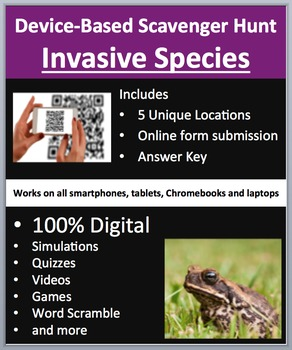 Invasive Species - Device-Based Scavenger Hunt Activity - Let the Hunt begin!