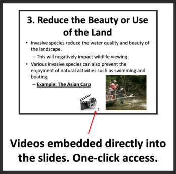 Invasive Species - Ecology PowerPoint Lesson, Inquiry Project & Student Notes