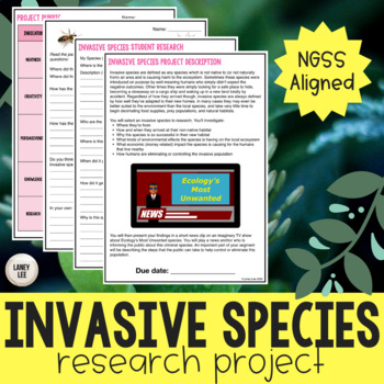 Invasive Species Ecosystems Project - Print & Google Versions