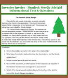 Invasive Species Informational Text & Questions