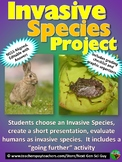 Invasive Species Project: Research and Presentation on a Species - NGSS