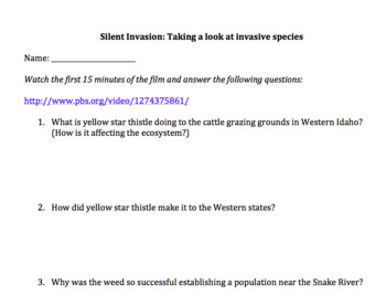 Invasive Species Worksheet By Woerner S Science Corner Tpt