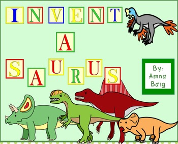 Invent-A-Saurus: Create your own dinosaur research report
