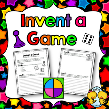 Invent a Game - End of the Year Math Culminating Task