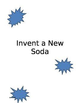 Invent a New Soda Activity