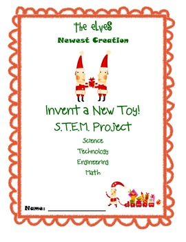 Invent a New Toy STEM Christmas project