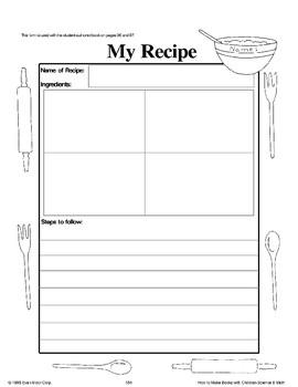 Invent a Recipe