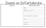 Invent an Invertebrate/Vertebrate