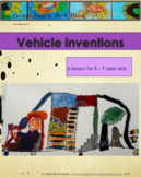 Invented Vehicles Art Lesson